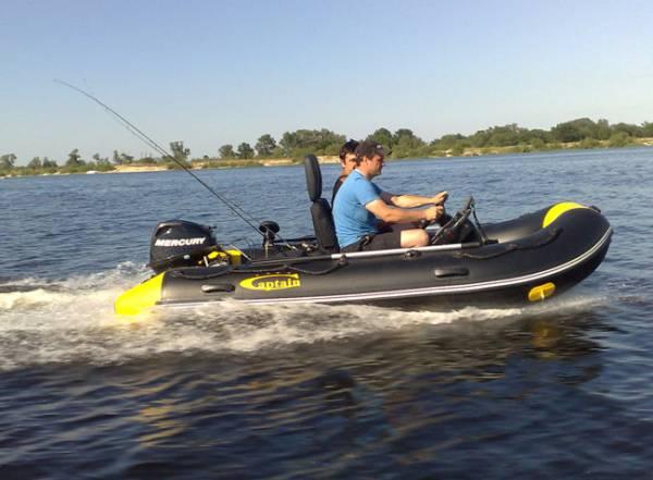 как сделать управление лодкой пвх